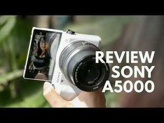 Sony A5000 Kit 16-50mm Kredit Kamera Resmi