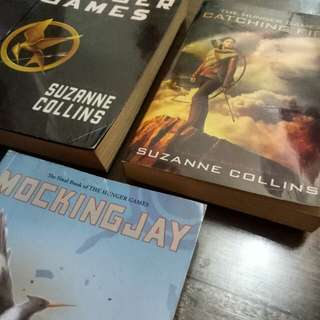 Hunger Games Trilogy, Fifty Shades of Freed, City of Bones, Abundance of Katherines