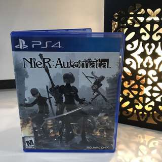 Original PS4 Game Nier Automata