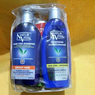 NUTUR VITAL  HAIR PRODUCTS  MINI SET