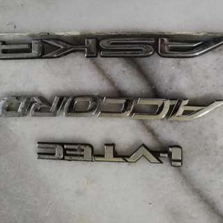 honda accord emblem