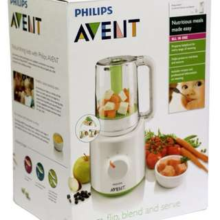 Avent Combined Baby Food Blender and Steamer
