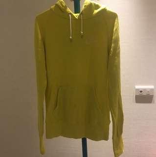 Nike黃色休閒帽踢