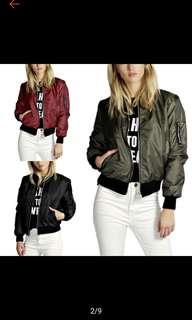 (po) bomber jacket