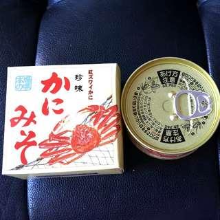 札幌蟹本家蟹膏