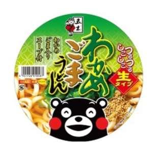 日本 海苔芝麻杯麵