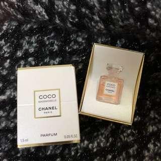 香奈兒摩登COCO香精1.5ml Chanel Coco Mademoiselle Parfum 1.5ml