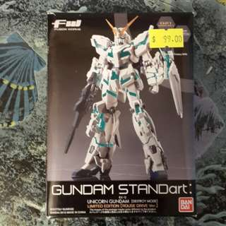 FW Fusion Works GUNDAM STANDart Limited Edition Unicorn Gundam 獨角獸高達