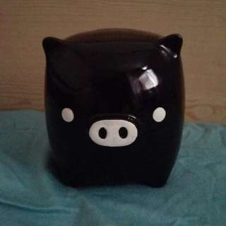 黑白豬 錢甖