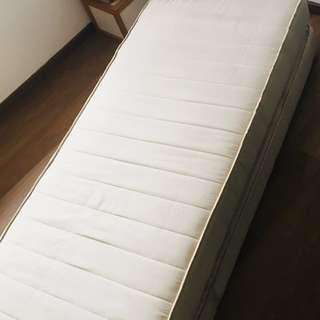 Foldable king size mattress