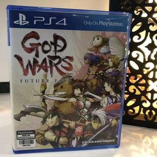 Original PS4 Game God Wars Future Past