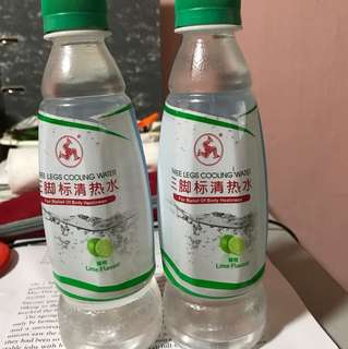 Three Legs Cooling Water Lime flavour