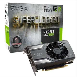 EVGA 1060 6GB SUPER CLOCKED SC