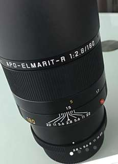 LEICA APO ELMARIT R 180MM F2.8 ROM (Open to trade with Leica M Summilux 75mm)