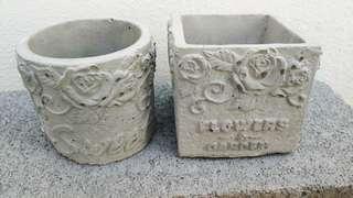 A set of Flower & Garden Planter Pots