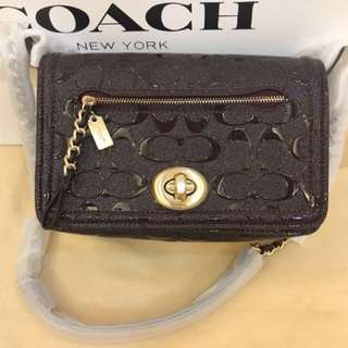 Original coach women sling bag dinky bag crossbody bagv