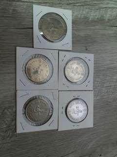 70,72-75年大1元