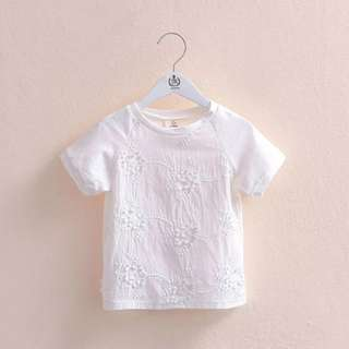 Kids fashion girl tshirt top