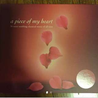 A Piece Of My Heart - 36 most soothing classical music of all time ( 2 CD )