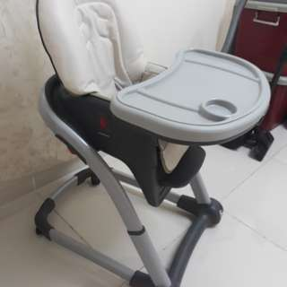 Baby High Chair Graco Blossom
