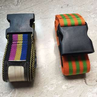 Luggage travel belt strap