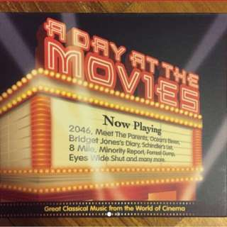 A Day At The Movie - great classical music from the world of cinema ( 2 CD )