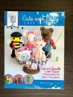Cake decorating book | Cute and Easy cake topper book
