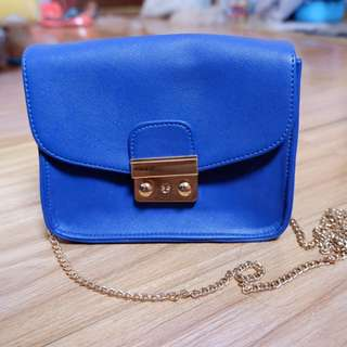 Tas navy blue preloved