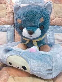 KOAOISORA 2018 Rilakkuma 鬆弛熊 リラックマ Relaxed Cat hoi-hoi Cushion 40x36cm 景品寵物咕𠱸 B款 コリラックマ (全新)