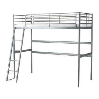 Ikea SVÄRTA Loft bed frame