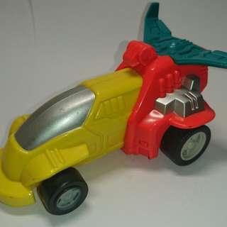 絕版黑人牙膏玩具車