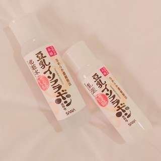 🚚 SANA莎娜~豆乳美肌化妝水和乳液組合
