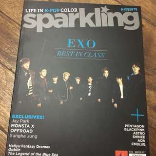 Sparkling Magazine (Exo and Pentagon)