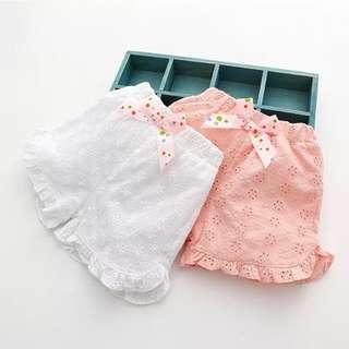 Kids fashion girl shorts