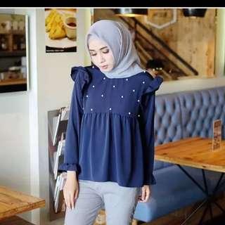 bl blouse atasan wanita