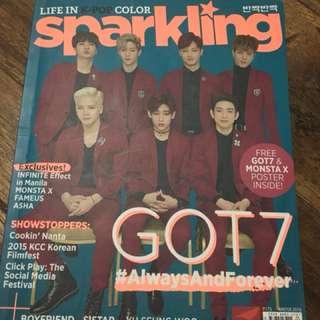 Sparkling Magazine (GOT7 and Monsta X)