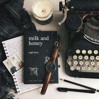 milk and honey poetry book by rupi kaur