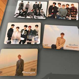 Yes card - Pentagon