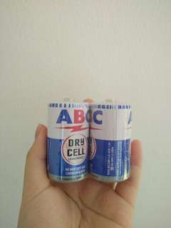 Baterai ABC (drycell leakproof)