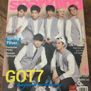 Sparkling Magazine (GOT7 and Boys Republic)