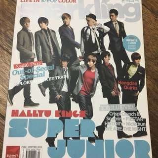 Sparkling Magazine (Super Junior and Infinite)