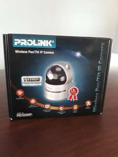 Prolink Wireless Pan/Tilt Ip Camera