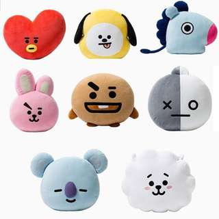 BTS BT21 FACE CUSHION