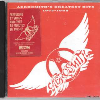 MY PRELOVED CD -AEROSMITH'S GREATEST HITS 1973-1988  /FREE DELIVERY (F7P)