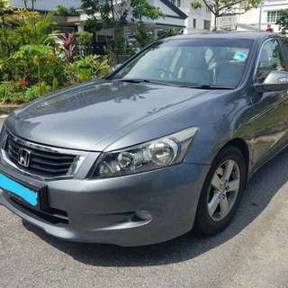 Honda Accord 2.0L 5-Speed Automatic      -(SG)-  Year 2008