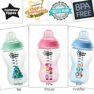 Tommee Tippee CTN 12oz/340ml Decorated Bottle