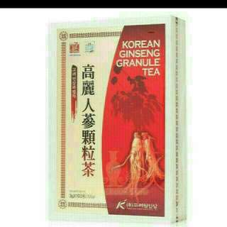 🚚 高麗人蔘顆粒茶