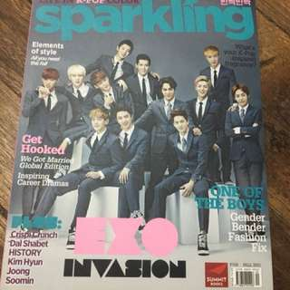 Sparkling Magazine (Shinee and Exo)
