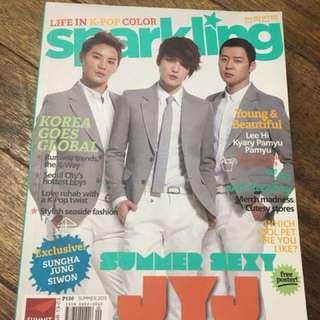Sparkling Magazine (JYJ and CNBLUE)