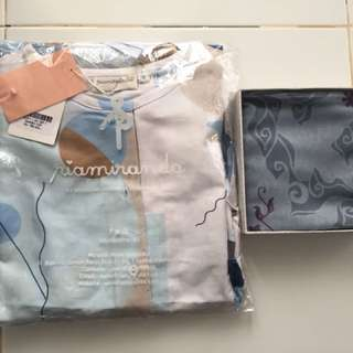 Bundling Derba Top size S dengan Socha Grey by Ria Miranda